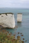 Old Harry Rocks in the Gales - 10th Sept 2011