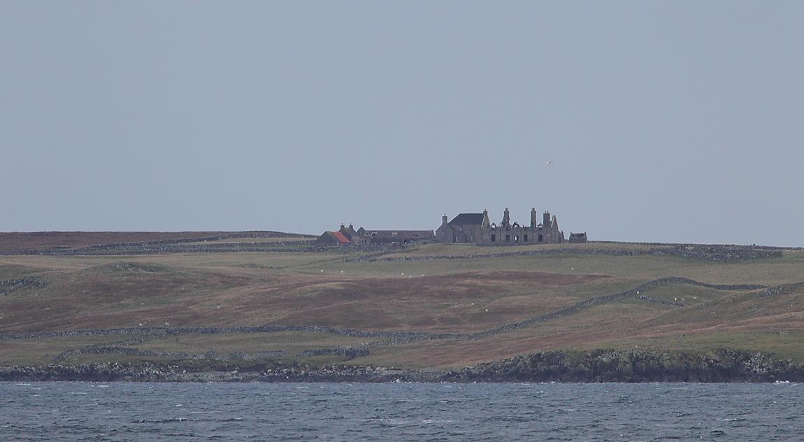 Muness Castle, Unst 8699559